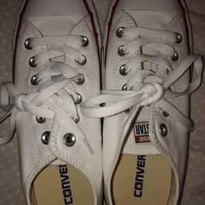 White Converse Sneakers